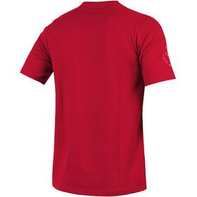 Endura One Clan Carbon T-Shirt Herren rust